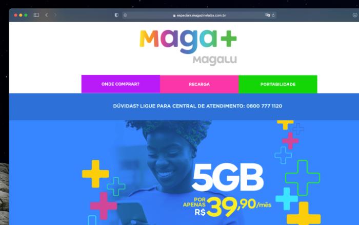 Magazine Luiza tem MVNO em parceria com a Surf Telecom
