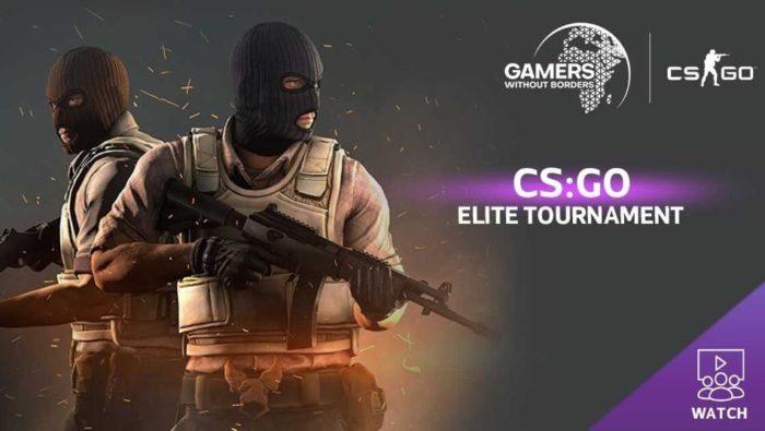 Gamers Without Borders faz torneio beneficente de CS:GO (Imagem: Divulgação/Gamers Without Borders)