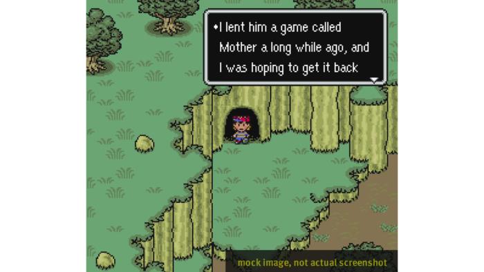 O direção ímpar de Earthbound tinha informes a Mother (Imagem: Divulgação/Video Game History Foundation)