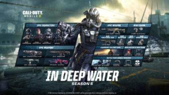 Call of Duty: Mobile recebe Temporada 5 com temática naval em junho