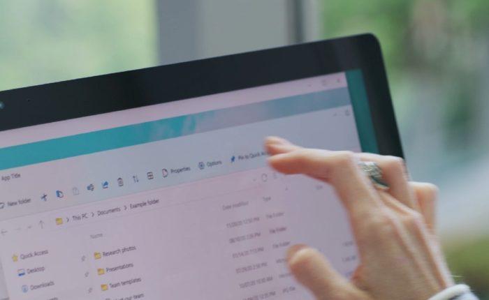 Explorador de Arquivos no Windows 11 (Imagem: Reprodução/Microsoft)