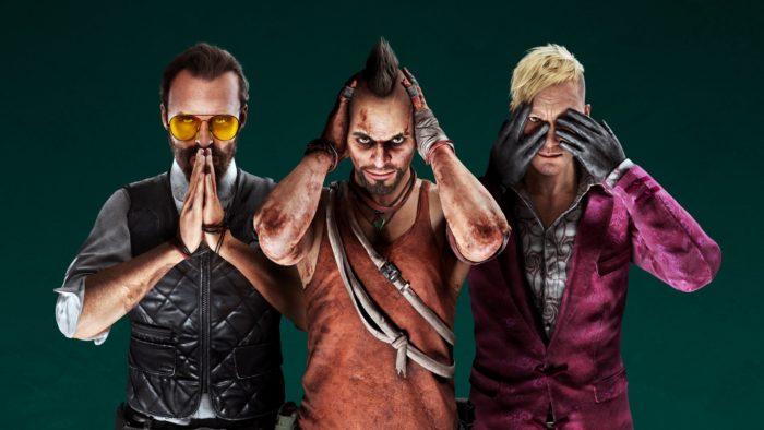 Vilões de Far Cry (Imagem: Divulgação/Ubisoft)