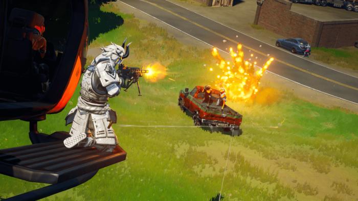 Fortnite terá explosões mais detalhadas na Temporada 7 (Imagem: Divulgação/Epic Games)