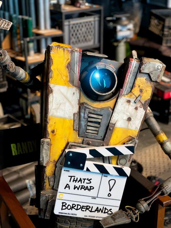 Claptrap no filme de Borderlands (Imagem: Divulgação/Lionsgate)