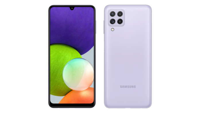 Galaxy A22 (Imagem: Divulgação/Samsung)