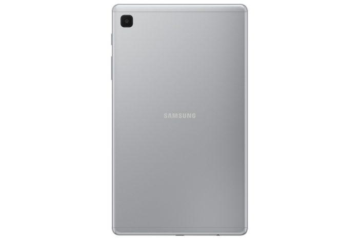 Galaxy Tab A7 Lite prata (imagem: divulgação/Samsung)