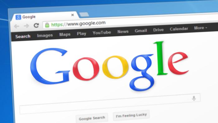 Página do Google no navegador (Imagem: Simon/Pixabay)