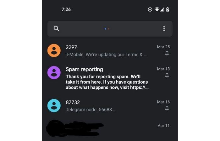 Google Mensagens permite fixar SMS no Android