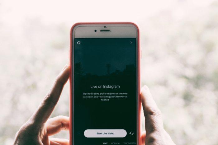 Live no Instagram (Imagem: Hans Vivek/Unsplash)