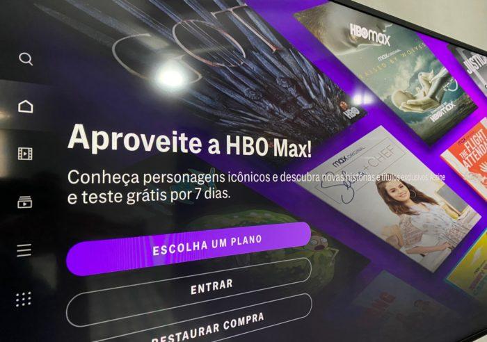 HBO Max na TV Samsung