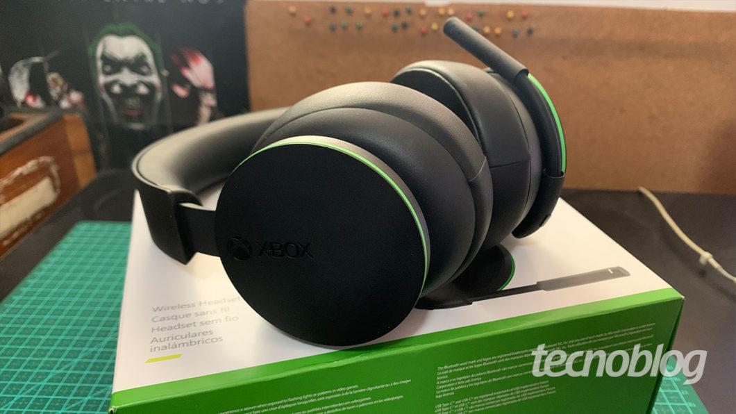 Headset Sem Fio Xbox: tá valendo? (Imagem: Felipe Vinha/Tecnoblog)
