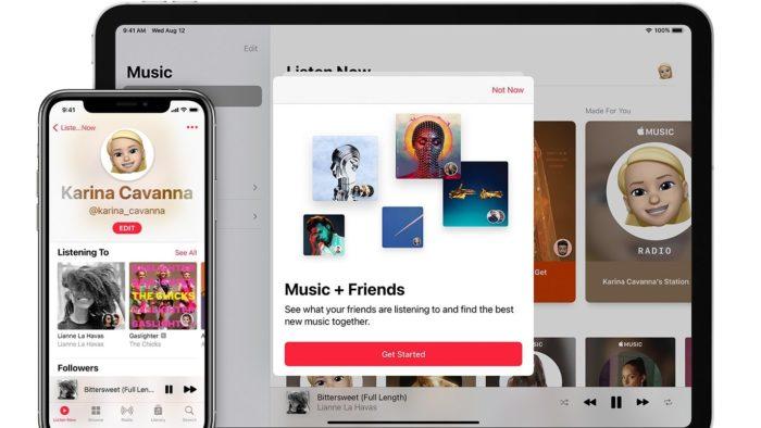 Veja como encontrar amigos no Apple Music e saber o que estão ouvindo (Imagem: Divulgação / Apple)