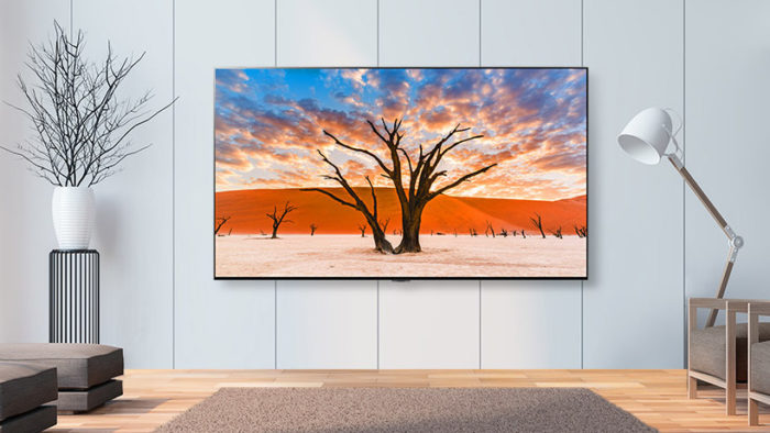 LG QNED99 TV with Mini LED (Image: Disclosure/LG)