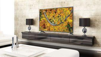 LG UP7550, UP7750 e UP8050 são as novas TVs 4K básicas