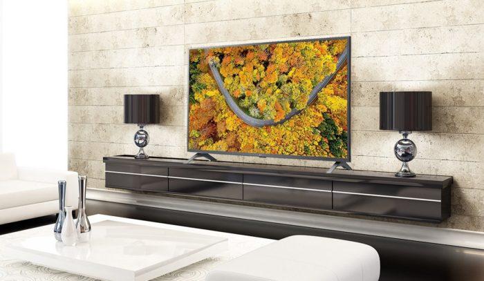 TV 4K LG UP7550 (Imagem: Divulgação/LG)