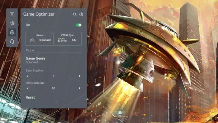 LG UP8050 de 82 polegadas tem otimização para games (Imagem: Divulgação/LG)