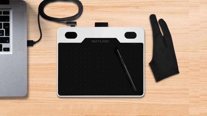 Mesa digitalizadora Criativa Slim (Imagem: Divulgação/Multilaser)