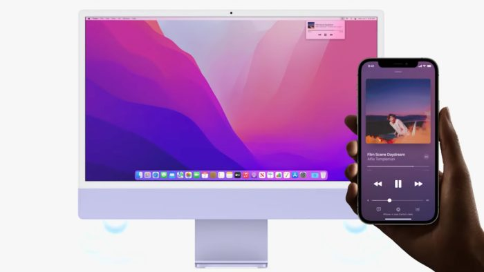 macOS Monterey brings greater integration with AirPlay (image: disclosure/Apple)