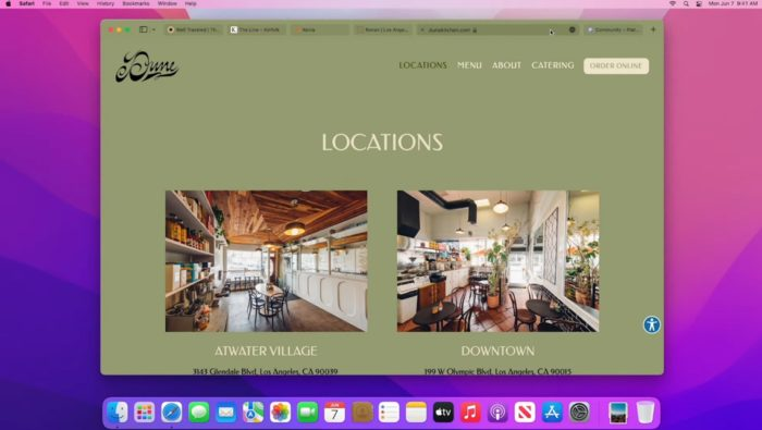 New Safari for macOS 12 Monterey (image: release/Apple)