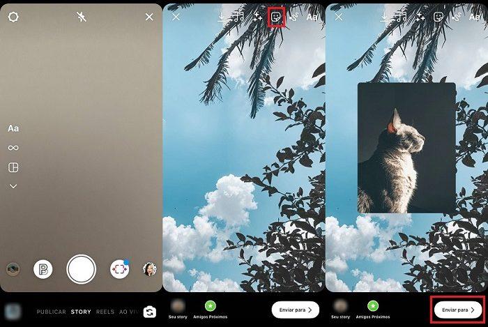 Como mudar a cor do Story no Instagram [Background] / Instagram / Reprodução