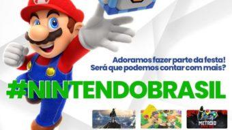 Fãs brasileiros da Nintendo fazem campanha por mais jogos em português