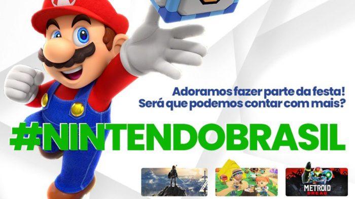 Fãs querem mais jogos da Nintendo em português (Imagem: Reprodução)