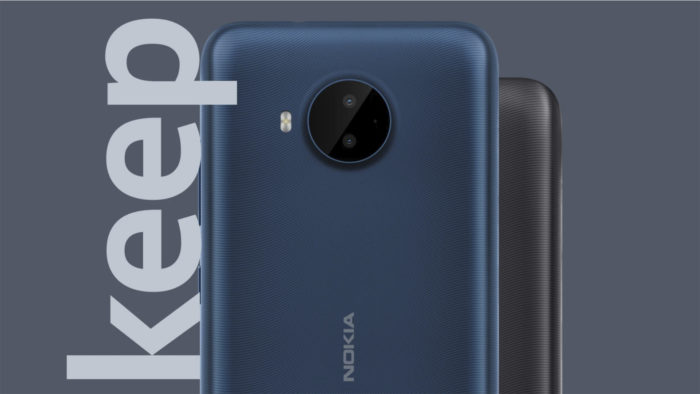 Nokia C20 Plus (Imagem: Divulgação/HMD Global)
