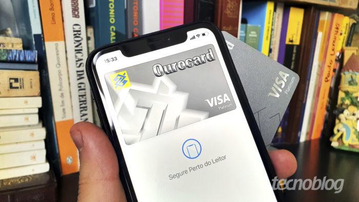 Cartão do Banco do Brasil no Apple Pay (Imagem: Bruno Gall De Blasi/Tecnoblog)
