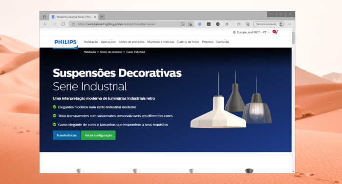 Dona da Philips Hue lança impressão 3D de luminárias no Brasil (Imagem: Reprodução/Tecnoblog)