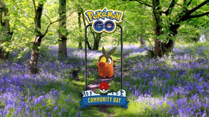 Tepig em Pokémon GO em julho (Imagem: Divulgação/Niantic)