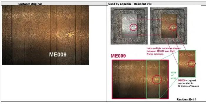 Foto ME009 no processo contra a Capcom (Imagem: Reprodução)