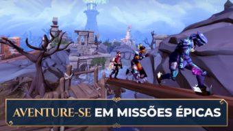 RuneScape é liberado para todos no Android e iPhone com crossplay no PC