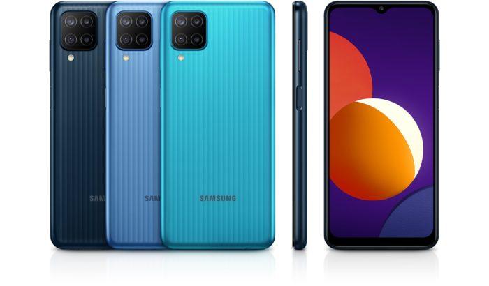 Samsung Galaxy M12 (Imagem: Divulgação/Samsung)