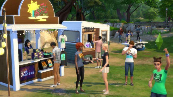 Sims Sessions em The Sims 4 (Imagem: Divulgação/EA)