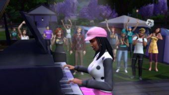 The Sims 4 abre festival de música, Sims Sessions, nesta terça-feira