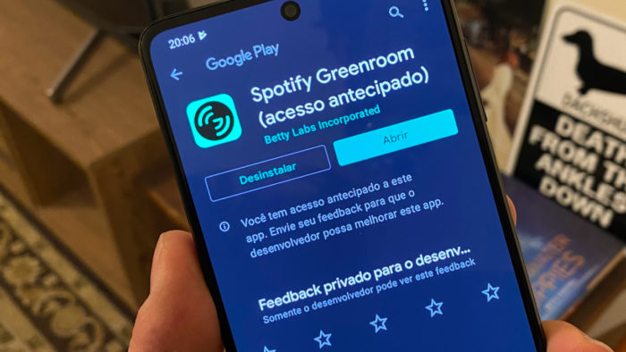 Spotify Greenroom no Android (Imagem: André Fogaça/Tecnoblog)