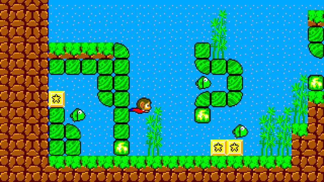 Alex Kidd in Miracle World DX é nostalgia pura (Imagem: Divulgação/Merge Games)