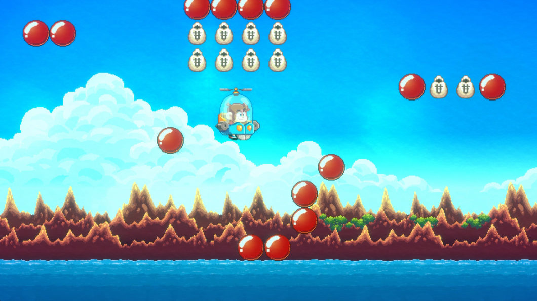 Don't be afraid to use infinite lives in Alex Kidd in Miracle World DX (Image: Press Release/Merge Games)