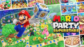 Mario Party Superstars terá 100 minigames clássicos da série