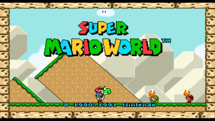 Brasileiro cria versão Widescreen de Super Mario World (Imagem: Reprodução)