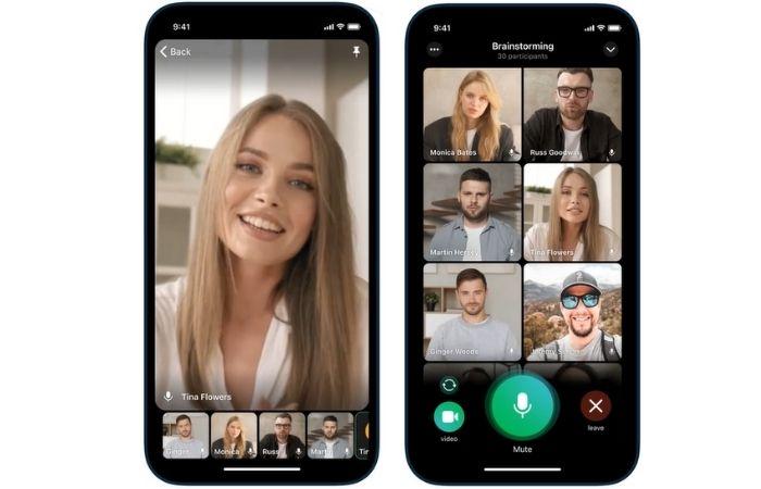 Chamadas de vídeo no Telegram (Imagem: Divulgação)