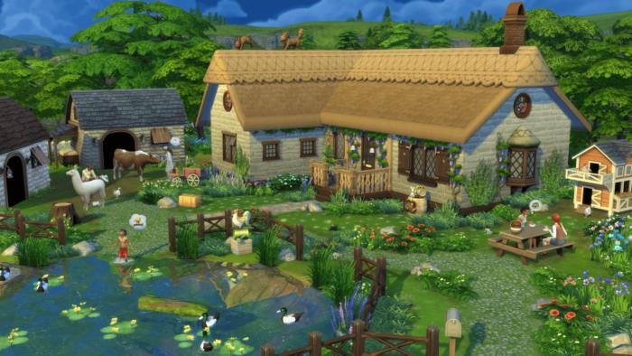 """Pacote """"Vida Campestre"""" de The Sims 4 (Imagem: Divulgação/EA)"""