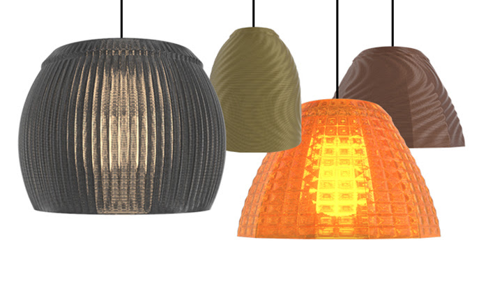 Luminárias 3D da Philips (Imagem: Divulgação/Signify)