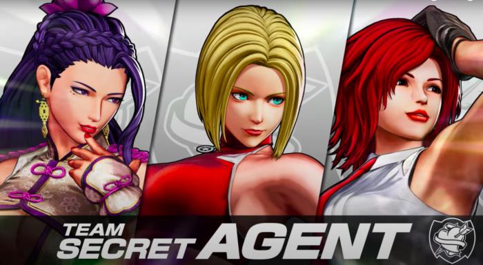 Vanessa é parte de novo time em The King of Fighters 15 (Imagem: Divulgação/SNK)
