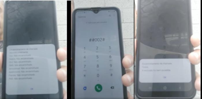 Vídeo divulga informação falsa de que celular está sendo monitorado (Imagem: Reprodução/Facebook)