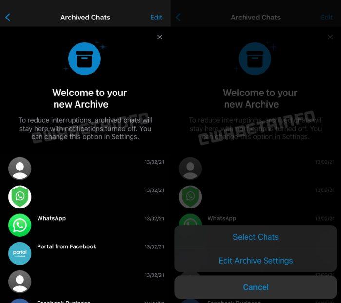 WhatsApp Beta para iOS começa a receber novo arquivo (Imagem: Reprodução/WABetaInfo)