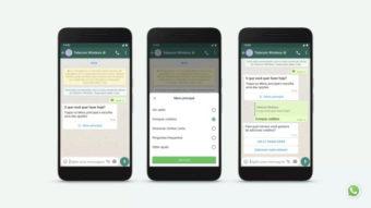 WhatsApp e Instagram ganham recursos para empresas conversarem com você