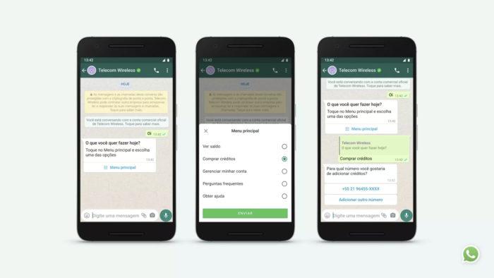 WhatsApp Business ganha novos recursos para mensagens (Imagem: Divulgação/WhatsApp)