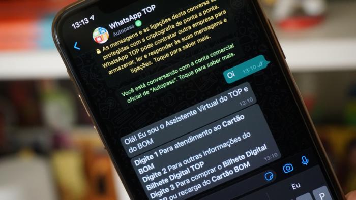 Atendimento via WhatsApp do Metrô e CPTM (Imagem: André Fogaça/Tecnoblog)