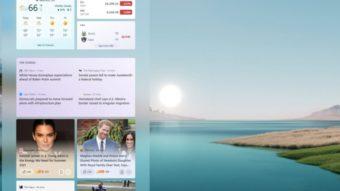 Windows 11 pode trazer widgets de volta à área de trabalho após uma década